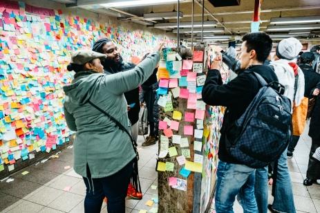Union Square Subway Station NYC, Sunday Nov 20 2016