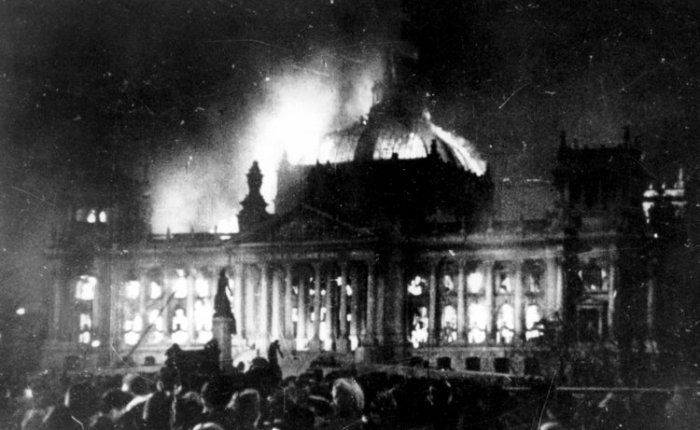 Waiting for the Burning Down the Reichstag Moment . ..